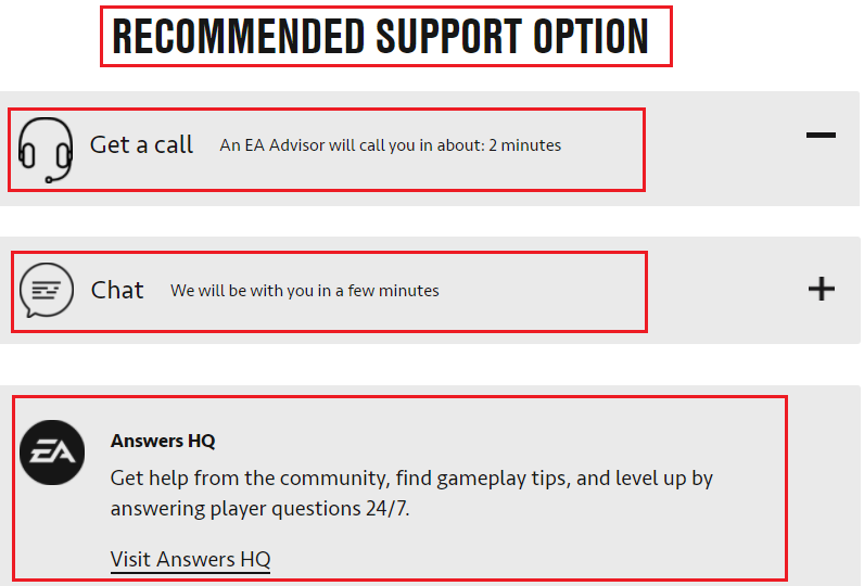 pogo support options